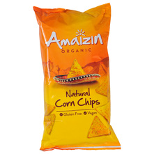 Amaizin Organic Kukuruzni tortilla čips natural eko 250 g