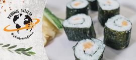 Maki i uramaki sushi