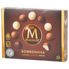 Magnum Sladoled bomboniera classic almond white 12/1 140 ml