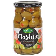 Zvijezda Masline zelene s paprikom 200 g
