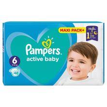Pampers Active Baby Pelene, veličina 6 (13-18 kg) 48/1