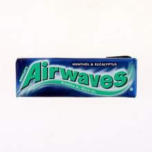 Airwaves menthol&eucalyptus žvakaća guma 14 g