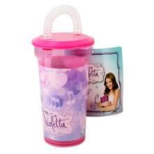 Disney Violetta Plastična čaša sa slamkom 4 dc