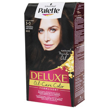 Palette Deluxe 3-0 tamnosmeđa 800 boja za kosu