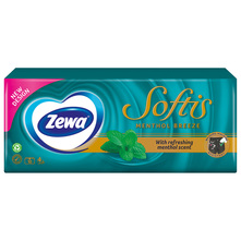 Zewa Softis Papirnate maramice menthol breeze 4 sloja 10/1
