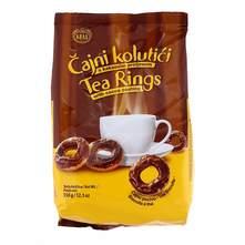Čajni kolutići s kakao preljevom 350 g