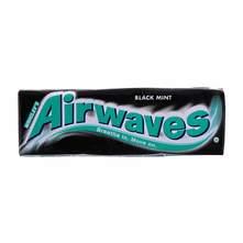 Airwaves black mint žvakaća guma 14 g