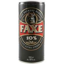 Faxe Extra Strong pivo 1 l