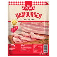 Podravka Hamburger Podravski špek narezak 100 g