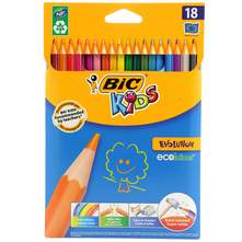 Bic Kids Evolution Drvene bojice 18/1