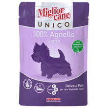 Miglior Cane Unico Hrana za pse pašteta s janjetinom 100 g