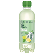 Romerquelle Bio limo light Gazirana voda lemon, lime, mint 375 ml