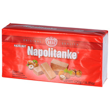 Kraš Napolitanke lješnjak 420 g