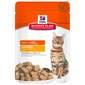 Hill's Adult Chunks&Gravy Hrana za mačke piletina 85 g