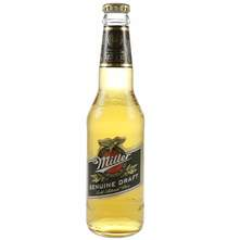 Miller Genuine Draft pivo 0,33 l
