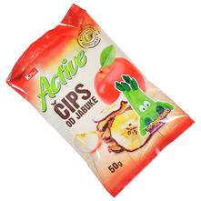 K Plus Active Čips od jabuke 50 g