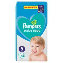 Pampers Active Baby Pelene, veličina 5 (Junior) 11-16 kg 54/1