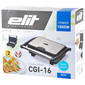 Elit Contact grill CGI-16