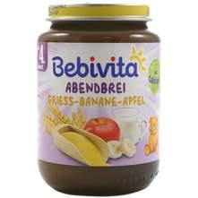 Bebivita Kašica s mlijekom, grisom, bananom i jabukom 190 g