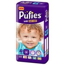 Pufies Baby Art Dry Pelene, veličina 4+ (Maxi) 9-16 kg 50/1