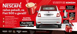 NESCAFÉ račun pokaži, za Fiat 500 u garaži!