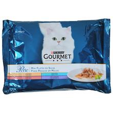Purina Gourmet Perle Hrana za mačke mini fileti u umaku 4x85 g