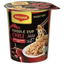 Maggi Noodle Cup Instant rezanci s jakim azijskim začinima chili 63 g