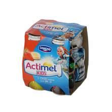 Actimel jagoda banana jogurt 4x100 g