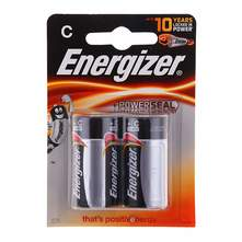 Energizer +Power Seal Baterije C LR14 2/1