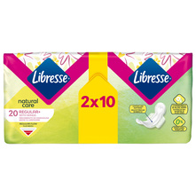 Libresse Natural Care Higijenski ulošci regular+ 20/1