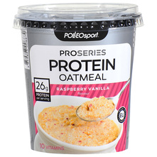 Polleo Sport Proseries Protein Oatmeal raspberry vanilla 85 g