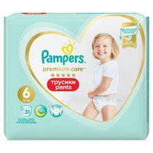Pampers Premium Care Pelene-gaćice, Veličina 6, 15+ kg 31/1
