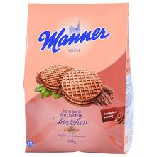 Manner Vafel schoko brownie 400 g