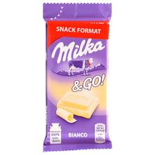 Milka&Go! Snack bijela čokolada 45 g
