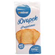 Mlinar Dvopek classic 320 g