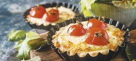 Quiche sa šunkom, rajčicom i jajima