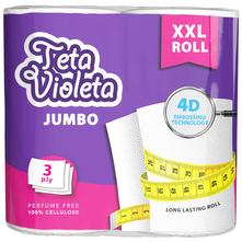 Teta Violeta Jumbo Papirnati ručnici 3 sloja 2/1