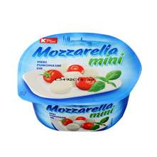 K Plus Mozzarella mini meki punomasni sir 125 g