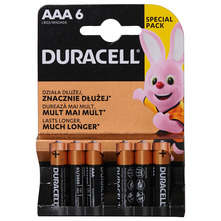 Duracell Baterije AAA 6 LR03 MN2400 6/1