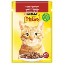 Purina Friskies Hrana za mačke u umaku s govedinom 85 g