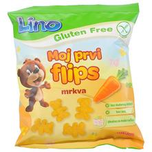 Lino Moj prvi flips mrkva bez glutena 35 g