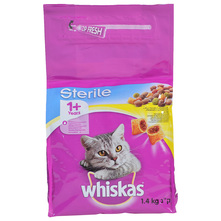 Whiskas Sterile Hrana za mačke piletina 1,4 kg