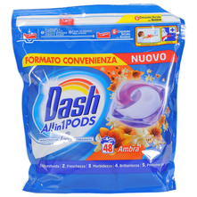 Dash Allin1 Deterdžent ambra 48 tableta