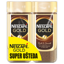 Nescafe Gold Instant kava rich&smooth 2x200 g