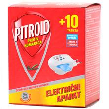 Pitroid Električni aparat protiv komaraca i tablete 10/1