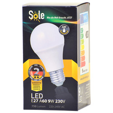 Sole LED žarulja 9W E27