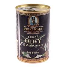 Masline crne odkoštene 130 g Kaiser