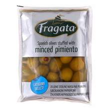 Masline zelene s paprikom 100 g Fragata