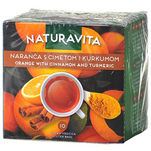 Naturavita Čaj naranča s cimetom i kurkumom 25 g