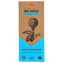 Kandi No Guilt Mliječna čokolada bez dodanog šećera natural vanilla 80 g